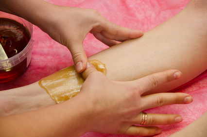 sugaring epilation